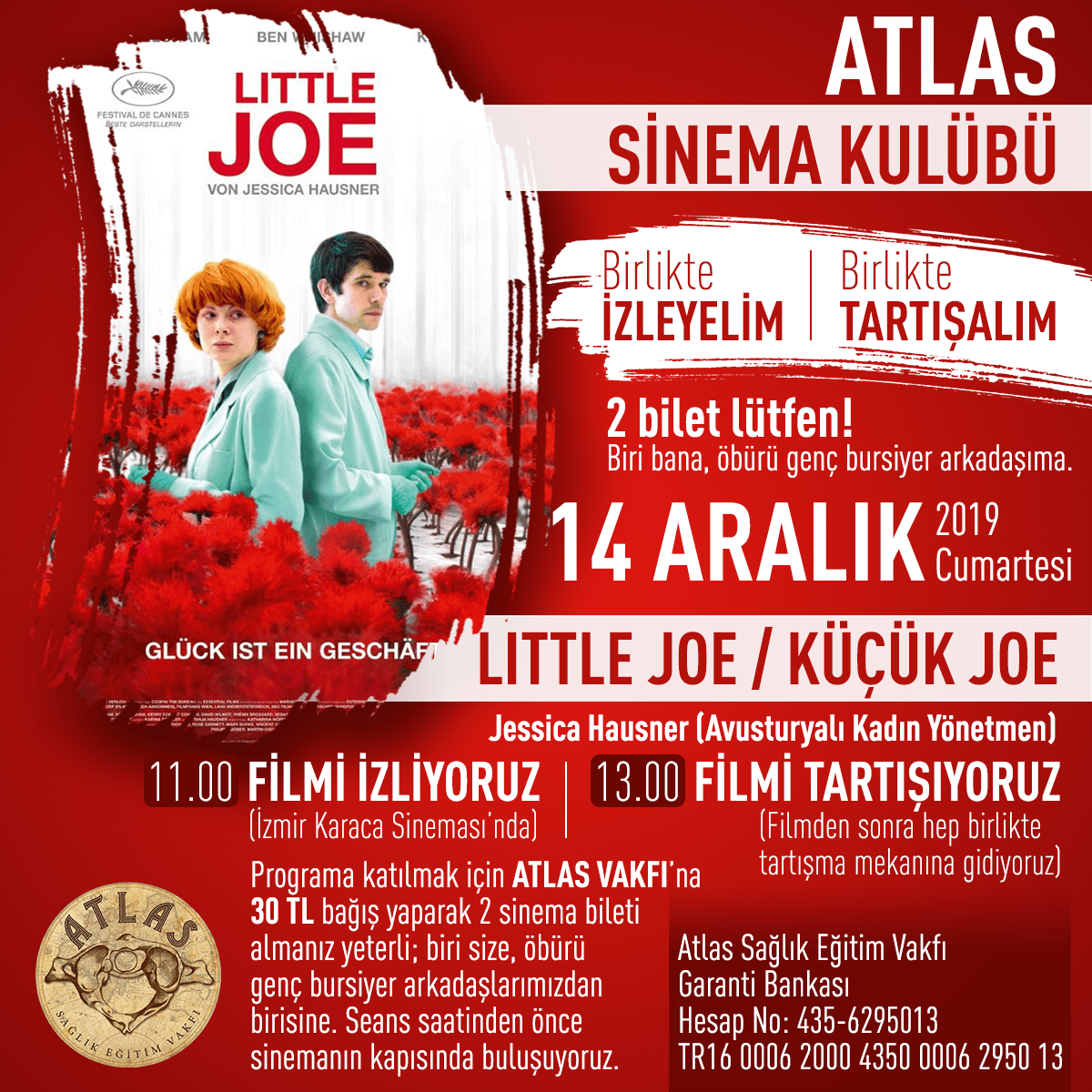 Atlas Sinema Kulübü - Little Joe
